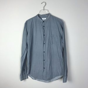Zara men's slim fit button down